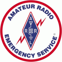 Picture of the Amateur Radio Emergency Service logo.