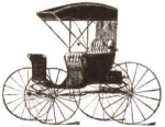Picture of the Carthage Buggy Festival logo.