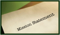Picture of a mission starement.